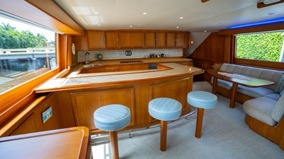 2010 Donzi 80 Convertible - Marlene Sea IV - Galley