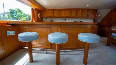 2010 Donzi 80 Convertible - Marlene Sea IV - Galley Bar Stools
