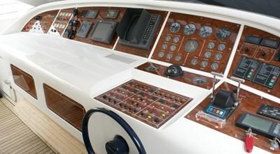 HALKIN 3 HALKIN 1999 OVERMARINE GROUP MANGUSTA 72 Motor Yacht Yacht MLS #250474 3