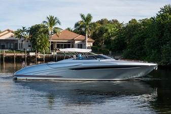 Starboard Profile with Bimini Top