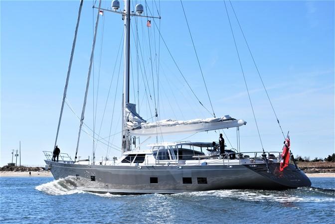 Exterior Sails Down