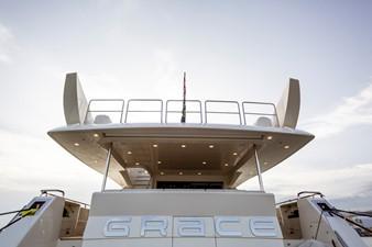 M/Y Grace Astondoa 96 GLX Stern