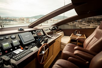 M/Y Grace Astondoa 96 GLX Bridge