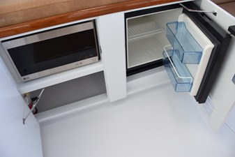 New Drink Refrigerator and Microwave Forward Bridgedeck