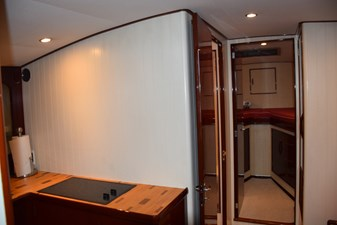 Fwd View Towards Stateroom, Head to Port