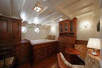 ELEONORA 12 S/Y 162.5ft Van Der Graaf Classic Gaff Schooner ELEONORA cabin