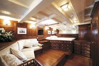 ELEONORA 11 S/Y 162.5ft Van Der Graaf Classic Gaff Schooner ELEONORA 11 master cabinELEONARA Classic Sailing Yacht 005