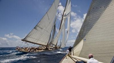 ELEONORA 3 S/Y 162.5ft Van Der Graaf Classic Gaff Schooner ELEONORA regatta 2