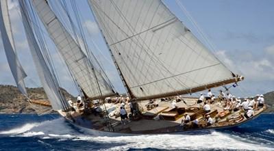 ELEONORA 4 S/Y 162.5ft Van Der Graaf Classic Gaff Schooner ELEONORA regatta