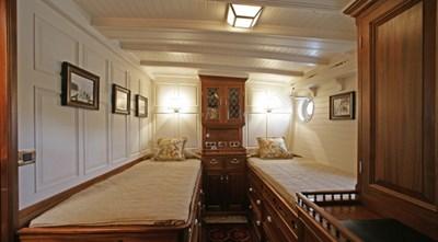 ELEONORA 14 S/Y 162.5ft Van Der Graaf Classic Gaff Schooner ELEONORA twin cabin