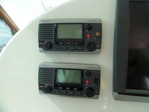 Twin Garmin VHF's