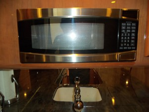 Galley Microwave
