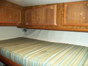 Starboard Cabin Upper Bunk