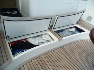 Forward Cockpit Storage