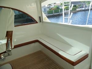 Helm Deck Seating Starboard
