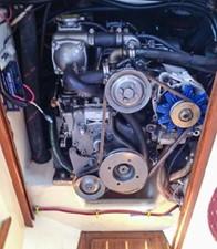 Yanmar Diesel -- 27hp 3GMF 450hours