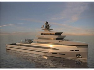 85m Spadolini Helipad Expedition Yacht 22