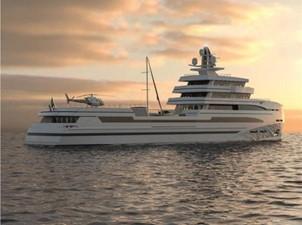 85m Spadolini Helipad Expedition Yacht 23