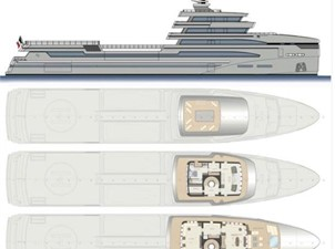 85m Spadolini Helipad Expedition Yacht 27