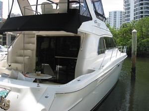 MECCABUCKS 3 MECCABUCKS 1999 SEA RAY 480 Sedan Bridge Motor Yacht Yacht MLS #251961 3