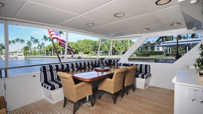 Aft Deck with A/C