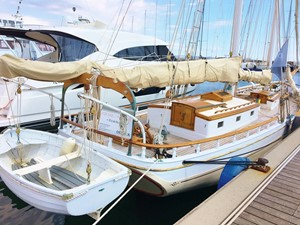 Silver Heels 5 Silver Heels 1963 PETERSON MAIN TOPSAIL SCHOONER Schooner Yacht MLS #252443 5