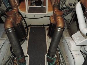 Smoken Joe 28 Engine Room