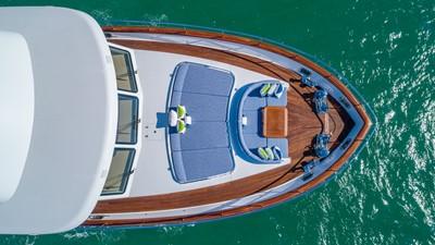 Bow Seating: MONI 107' 2013 Vicem Motor Yacht