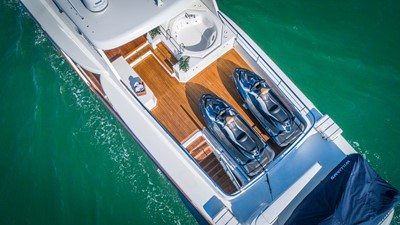 Aerial Sun Deck: MONI 107' 2013 Vicem Motor Yacht