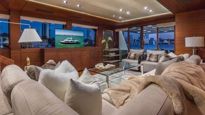 Main Salon: MONI 107' 2013 Vicem Motor Yacht