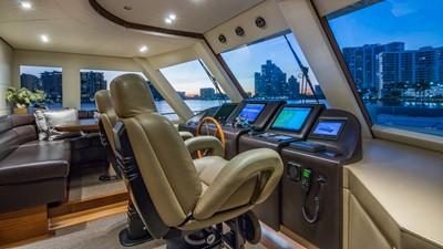Wheel House: MONI 107' 2013 Vicem Motor Yacht