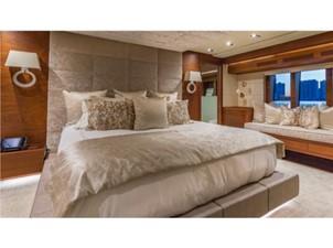 Master Stateroom: MONI 107' 2013 Vicem Motor Yacht