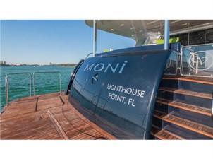 Swim Platform: MONI 107' 2013 Vicem Motor Yacht