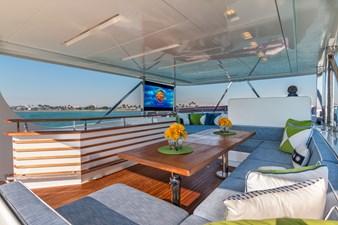 Sun Deck: MONI 107' 2013 Vicem Motor Yacht
