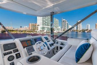 Sun Deck Helm: MONI 107' 2013 Vicem Motor Yacht