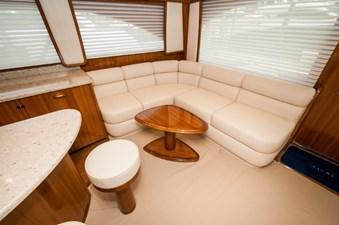 CRAZY K 2 2016 Viking 52 Convertible  Salon Seating