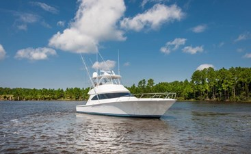 CRAZY K 45 2016 Viking 52 Convertible Starboard Bow