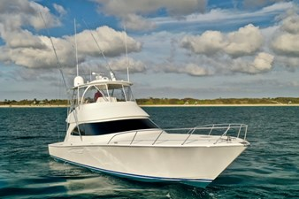 CRAZY K 50 2016 Viking 52 Convertible Starboard Bow