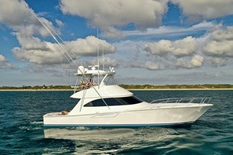 CRAZY K 51 2016 Viking 52 Convertible Starboard Bow