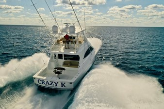 CRAZY K 55 2016 Viking 52 Convertible Transom
