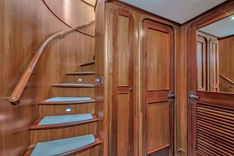 Forward Stairway to Guest Staterooms