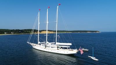 ARABELLA 1 ARABELLA 1983 PALMER JOHNSON Tri-Masted Staysail Cruising Sailboat Yacht MLS #253308 1