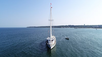 ARABELLA 2 ARABELLA 1983 PALMER JOHNSON Tri-Masted Staysail Cruising Sailboat Yacht MLS #253308 2