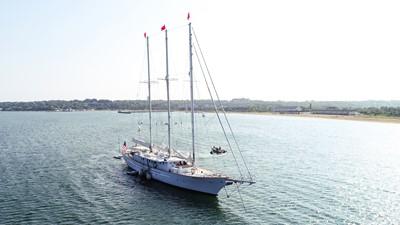 ARABELLA 3 ARABELLA 1983 PALMER JOHNSON Tri-Masted Staysail Cruising Sailboat Yacht MLS #253308 3