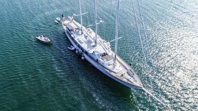 ARABELLA 4 ARABELLA 1983 PALMER JOHNSON Tri-Masted Staysail Cruising Sailboat Yacht MLS #253308 4