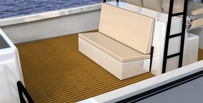 Optional aft seat