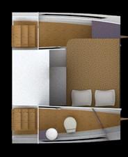 Interior Cabin and Head
