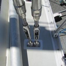 chainplates/ side deck