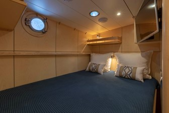 Guest/Crew Cabin in Double Bed Configuration