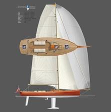 Cavalino 2 Cavalino 2010 BROOKLIN BOAT YARD  Cruising/Racing Sailboat Yacht MLS #253571 2